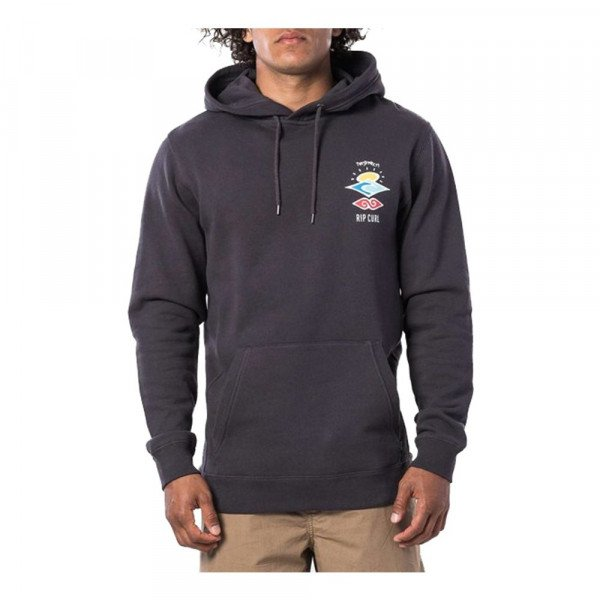 RIP CURL HOOD SEARCH ICON HOOD WASHED BLACK S20