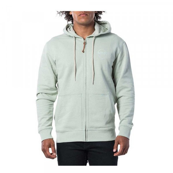 RIP CURL ZIP-HOOD ECO CRAFT FLEECE SEAGRASS S20