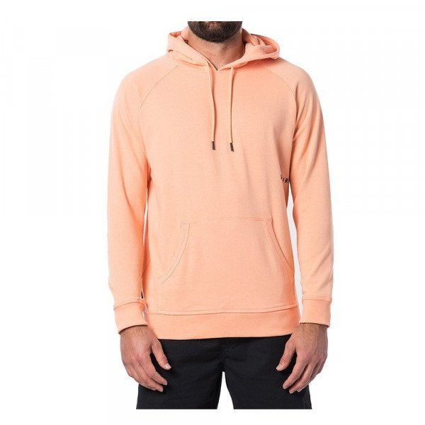 RIP CURL HOOD FONT FLEECE ORANGE S20