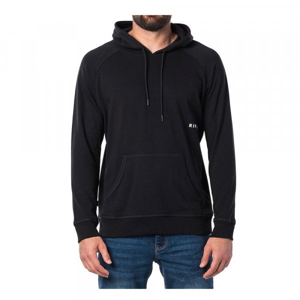 RIP CURL HOOD FONT FLEECE BLACK S20