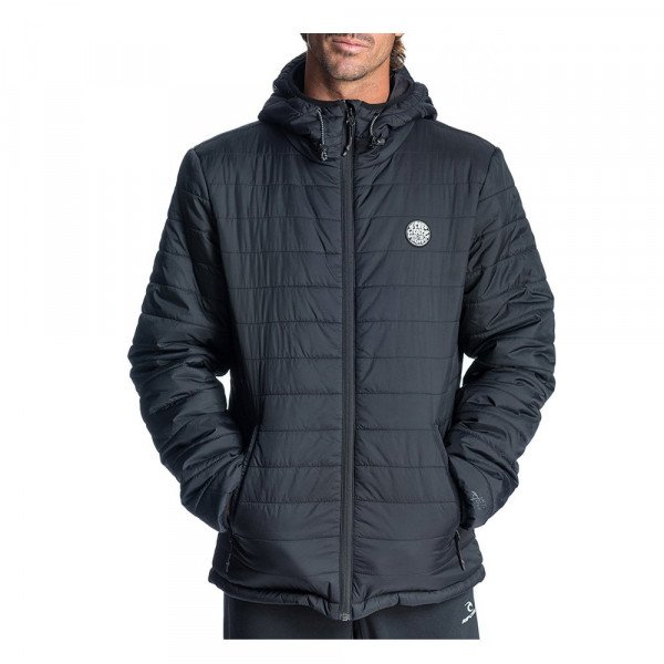 RIP CURL JAKA ORIGINALS INSULATED JACKET BLACK S20
