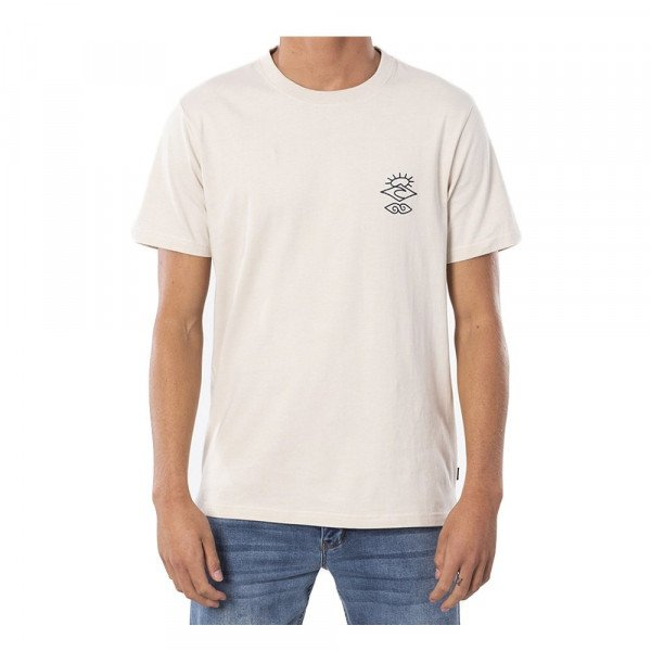 RIP CURL T-SHIRT SEARCHERS CRAFTER TEE BONE S20