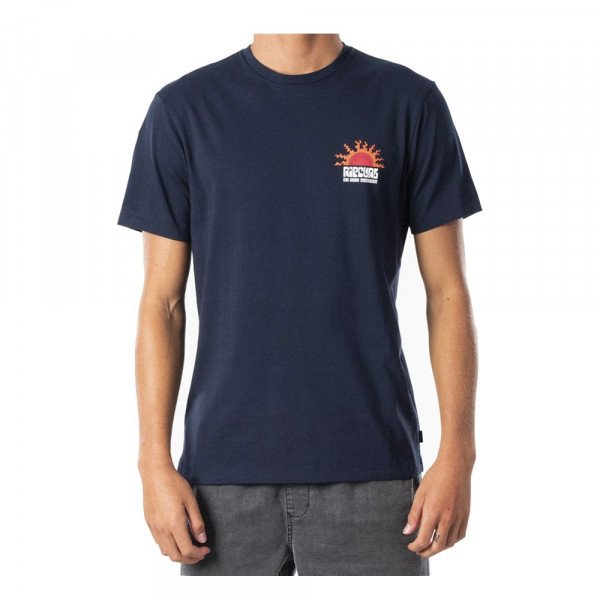 RIP CURL T-SHIRT GRATEFUL TEE NAVY S20