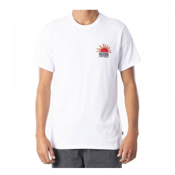 RIP CURL T-SHIRT GRATEFUL TEE WHITE S20