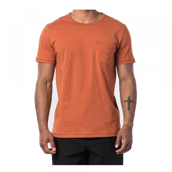 RIP CURL T-SHIRT ECO CRAFT S/S TEE TERRACOTTA S20