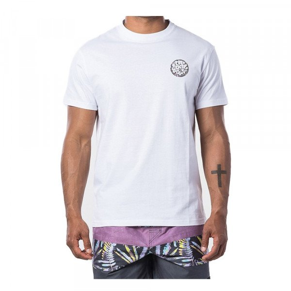 RIP CURL T-SHIRT PASSAGE TEE OPTICAL WHITE S20