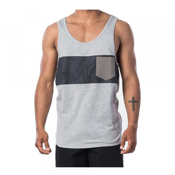 RIP CURL TOPS BUSY SESSION TANK CEMENT MARLE S20