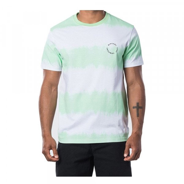 RIP CURL T-SHIRT ACIDOULOUS S/S TEE LIGHT GREEN S20