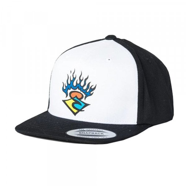 RIP CURL CEPURE SURF STICKER CAP KIDS BLACK S20