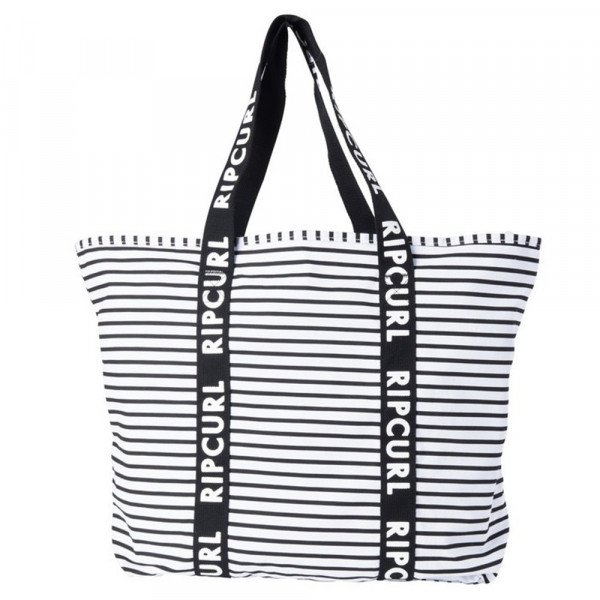 RIP CURL SOMA STANDARD TOTE ESSENTIALS WHITE BLACK