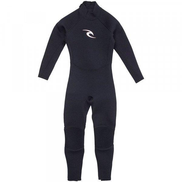 RIP CURL HIDROTĒRPS JNR SURFSCHOOL 43 BLACK BLACK S20
