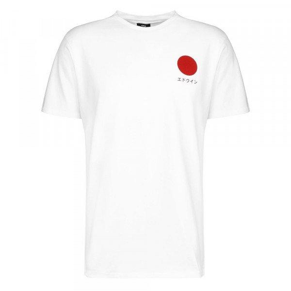 EDWIN T-SHIRT JAPANESE SUN TS WHITE S20