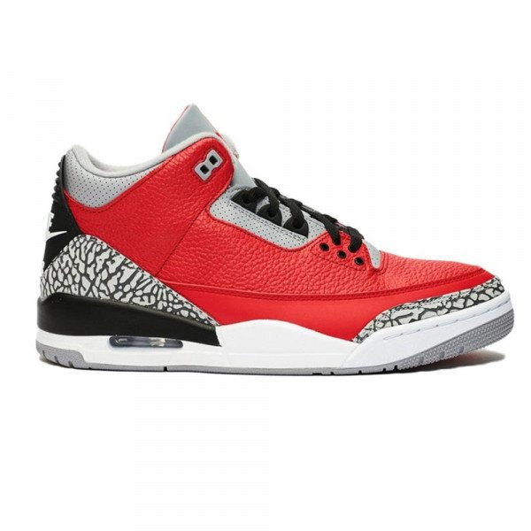 NIKE APAVI AIR JORDAN 3 RETRO SE FIRE RED S20