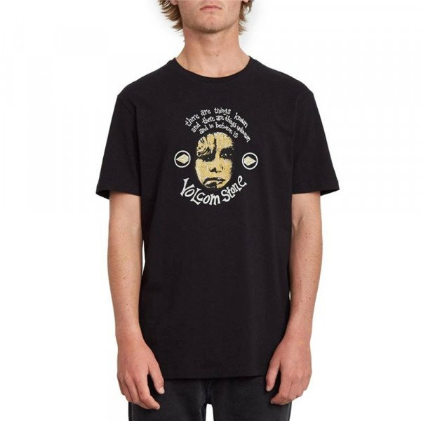 VOLCOM T-SHIRT IN BETWEEN LTW SS BLK S20