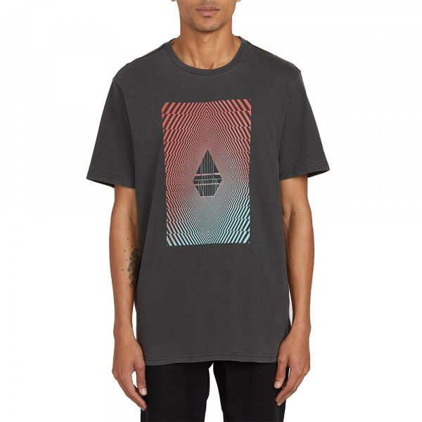 VOLCOM T-SHIRT FLOATION S/S TEE BLK S20