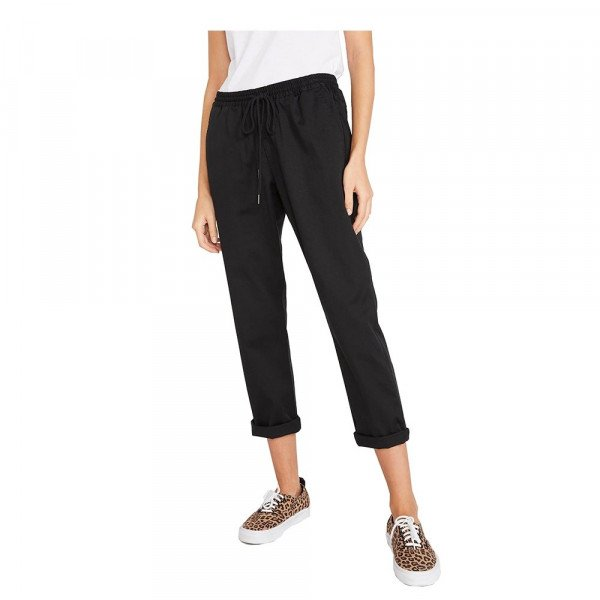VOLCOM PANTS FROCHICK TRAVEL PANT BLK S20