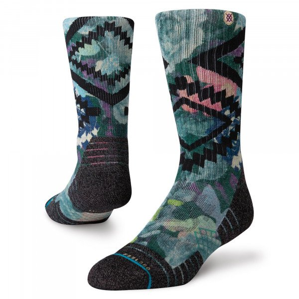 STANCE ZEĶES ADVENTURE DESERT ROSE CREW GREEN