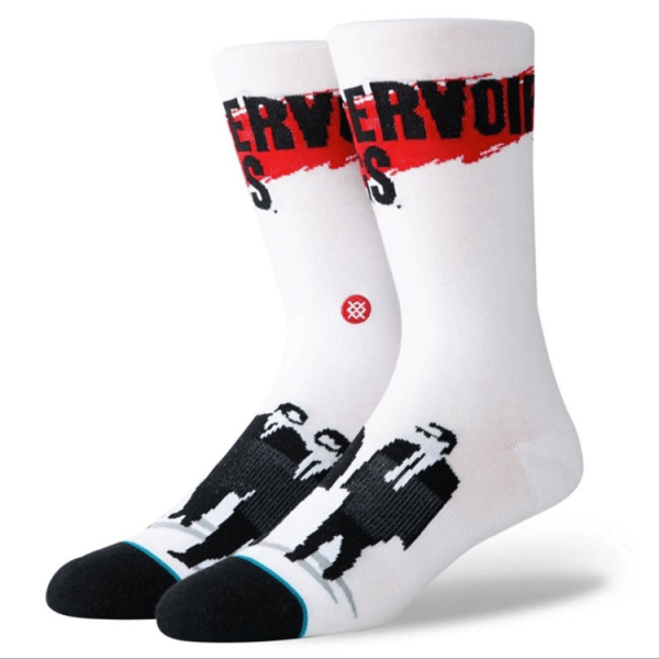 STANCE ZEĶES BLUE FOUNDATION RESERVOIR DOGS WHITE