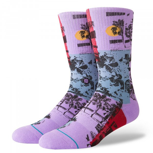 STANCE SOCKS BLUE FOUNDATION HABANA VIOLET