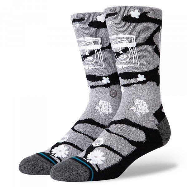 STANCE SOCKS BLUE FOUNDATION KENT BLACK