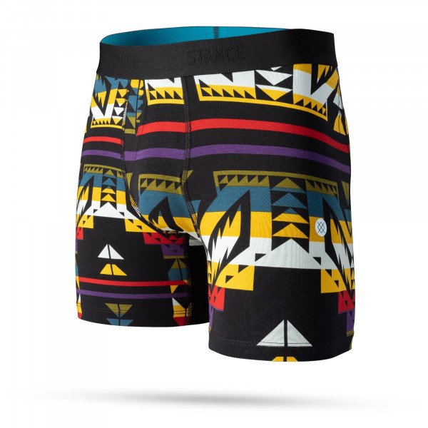 STANCE APAKŠVEĻA CRASH BOXER BRIEF BLACK