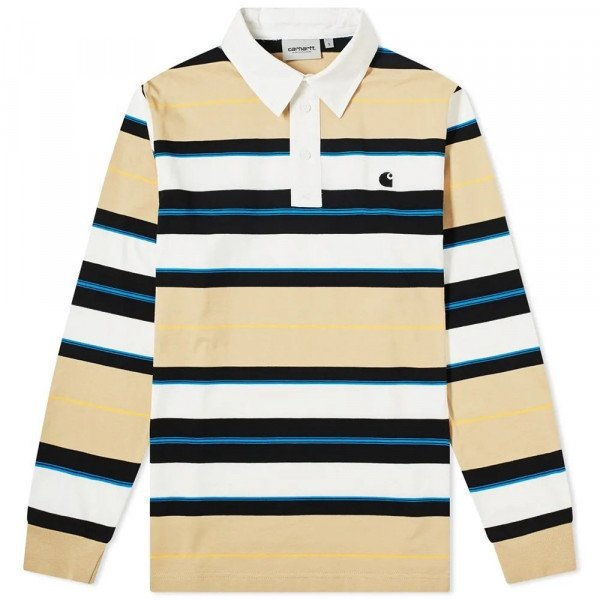 CARHARTT WIP KREKLS L/S MORGAN POLO MORGAN STRIPE S20