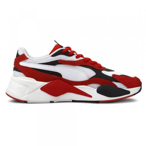 PUMA SHOES RS-X3 PUZZLE WHITE HIGH RISK RED S20