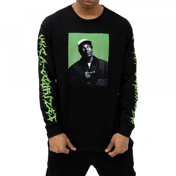 CHI MODU LONGSLEEVE UNCATEGORIZED BLACK GREEN PRINT S20