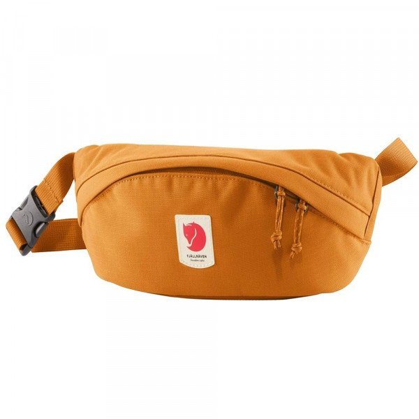 FJALLRAVEN SOMA ULVO HIP PACK MEDIUM RED GOLD