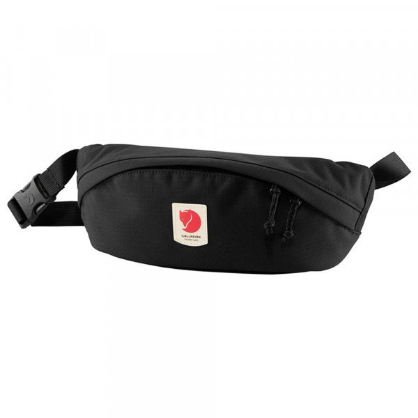 FJALLRAVEN SOMA ULVO HIP PACK MEDIUM BLACK