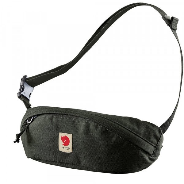 FJALLRAVEN SOMA ULVO HIP PACK MEDIUM DEEP FOREST