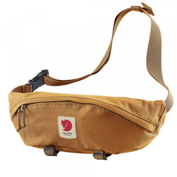 FJALLRAVEN SOMA ULVO HIP PACK LARGE RED GOLD