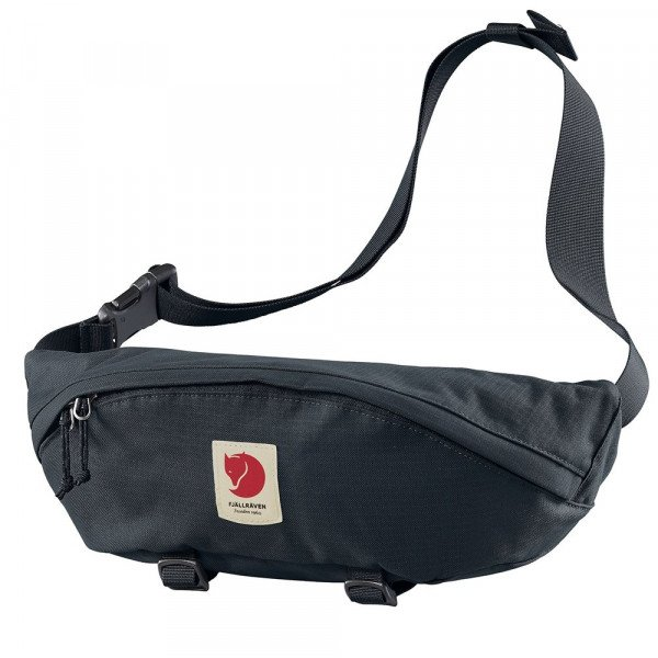 FJALLRAVEN SOMA ULVO HIP PACK LARGE DARK NAVY