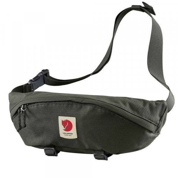 FJALLRAVEN SOMA ULVO HIP PACK LARGE DEEP FOREST