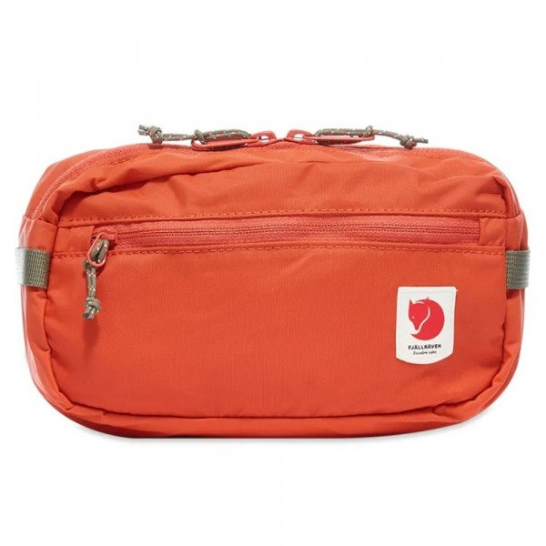 FJALLRAVEN SOMA HIGH COAST HIP PACK ROWAN RED