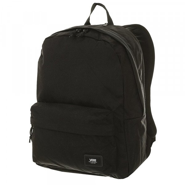 VANS SOMA OLD SKOOL PLUS II BACKPACK BLACK RIPSTOP S20