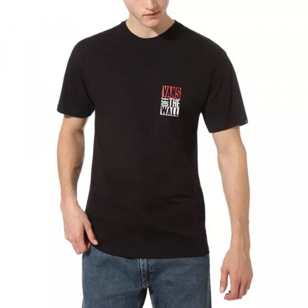 VANS T-SHIRT NEW STAX SS BLACK S20