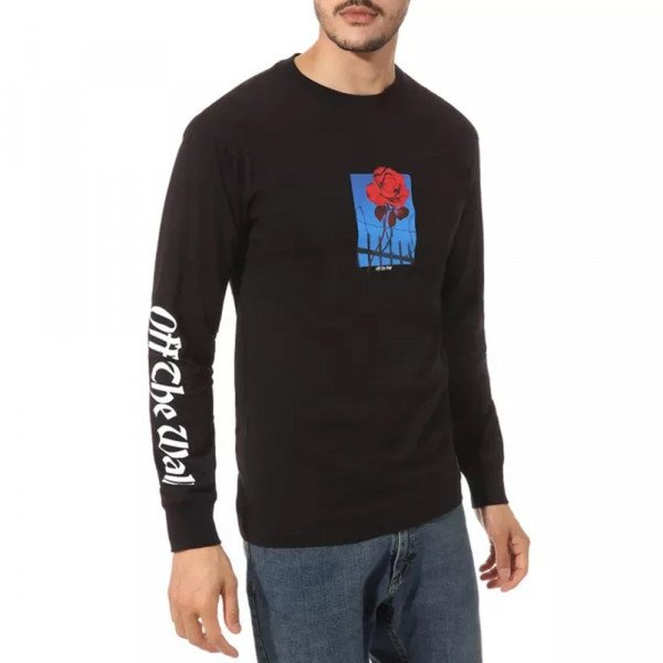 VANS LONGSLEEVE TRESPASSING LS BLACK S20