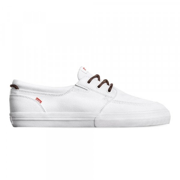 GLOBE SHOES ATTIC WHITE CANVAS S20