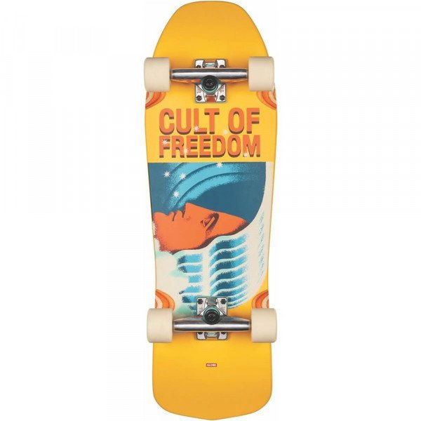 GLOBE LONGBOARD BLASTER CULT OF FREEDOM WAVEHEAD 30