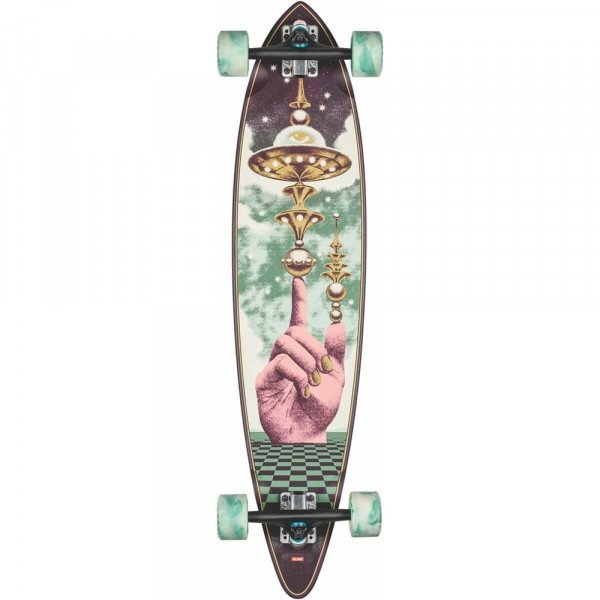 GLOBE LONGBOARD PINTAIL THE LAUNCHER 37