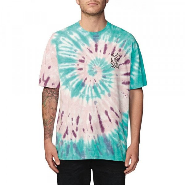 GLOBE T-SHIRT BLAZED TEE MINT S20