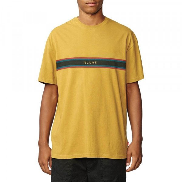 GLOBE T-SHIRT BREAK POINT TEE MUSTARD S20