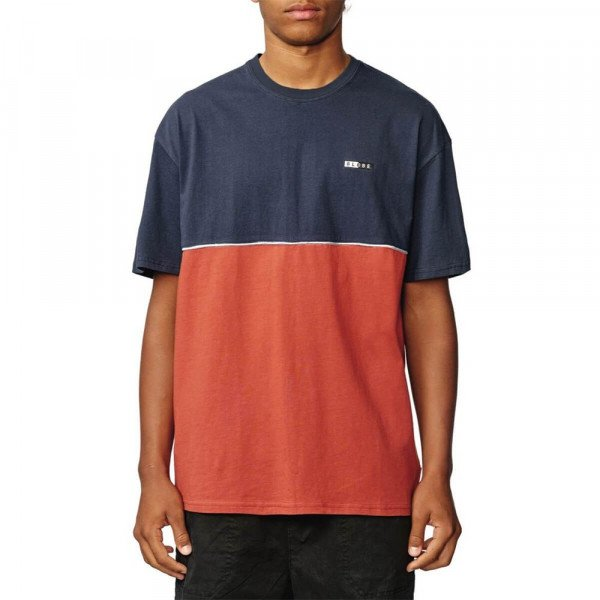 GLOBE T-SHIRT MID TIER TEE BRICK RED S20