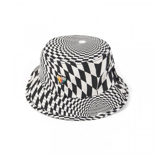 GLOBE HAT COF BUCKET HAT VORTEX BLACK S20