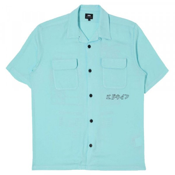 EDWIN KREKLS GARAGE SHIRT SS BLUE S20