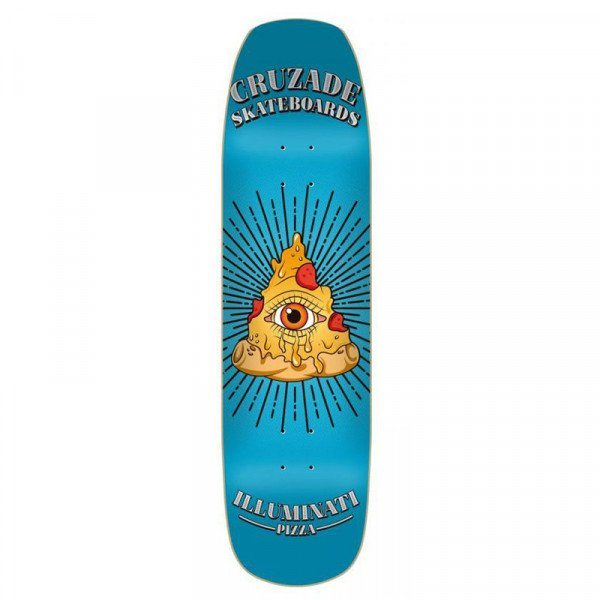 CRUZADE ILLUMINATY PIZZA 8.5 DECK
