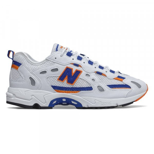 NEW BALANCE APAVI ML827AAA WHITE ORANGE S20