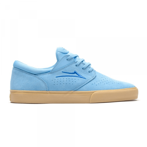LAKAI SHOES FREMONT VLC LIGHT BLUE GUM SUEDE S20