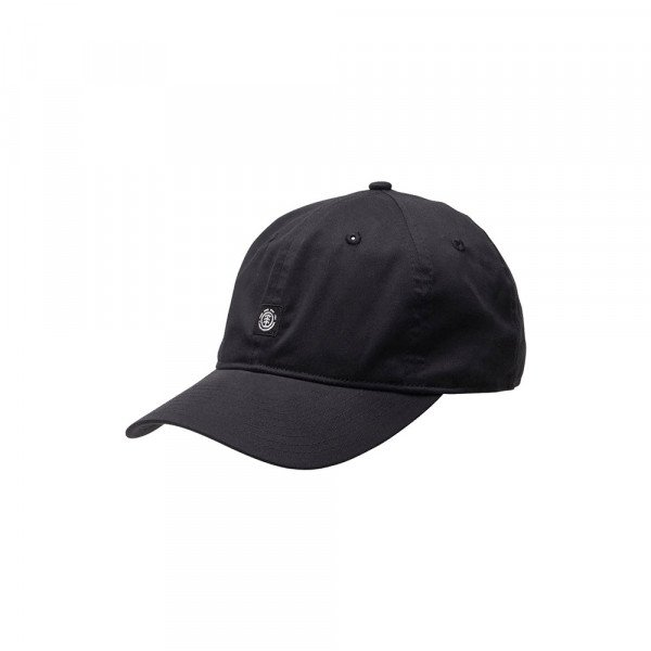 ELEMENT CEPURE FLUKY DAD CAP ALL BLACK S20